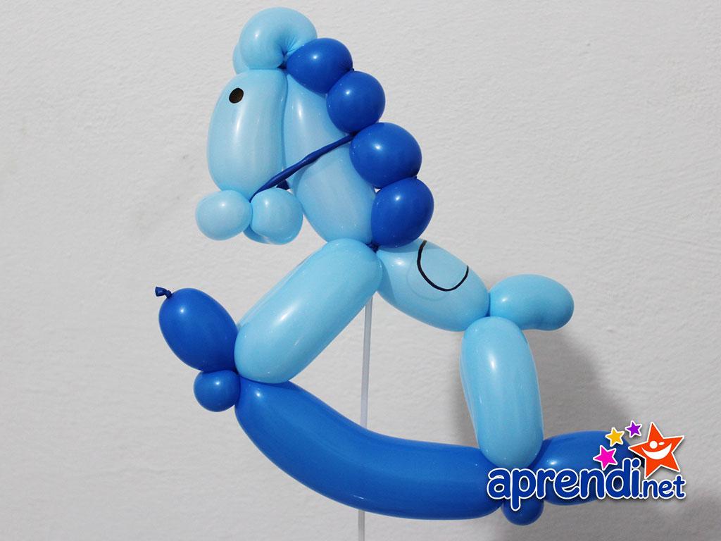Esculturas de balões Cavalinho de Balanço aprendi.net #C62D05 1024x768