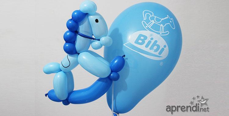 Esculturas de balões - Cavalinho de Balanço